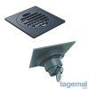 Сифон подов с механизъм TOAVA – Черен 10×10