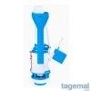 Изпразващ механизъм за пластмасово тоалетно казанче